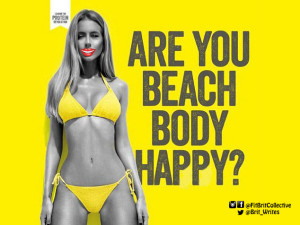 Beach Body Happy Protein World Ad